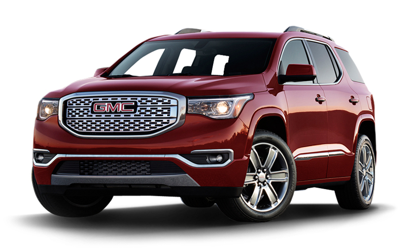 gmc acadia reviews price photos and specs car. Black Bedroom Furniture Sets. Home Design Ideas