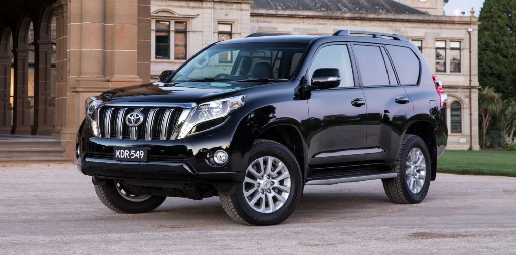 Toyota Prado Price in India
